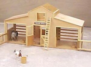 Breyer Horse Stable Woodworking Plan | eBay