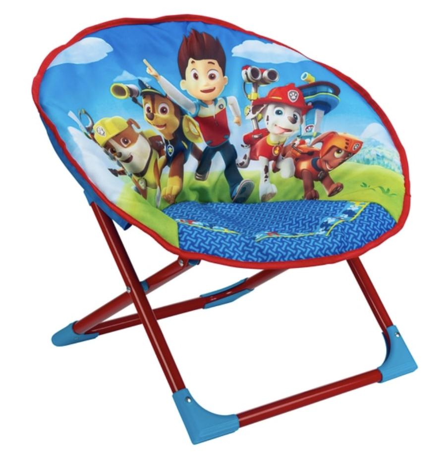 Paw Patrol Lune Chaise-enfants Noël repliable repliable repliable Camping Chaise Siège Pliable Nouveau b24592