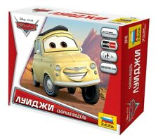 Disney Pixar Cars Mcqueen Mater King 1:43 Scale Model Kits de montagem Zvezda