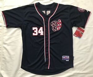 new style 211b4 00b8e Details about BRYCE HARPER Authentic Majestic Washington Nationals Jersey -  NEW with Tags