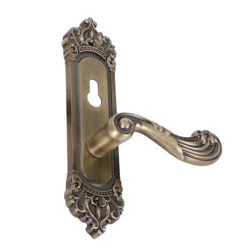 Retro Continental Antique Privacy Door Security Entry Handle Locks Set US