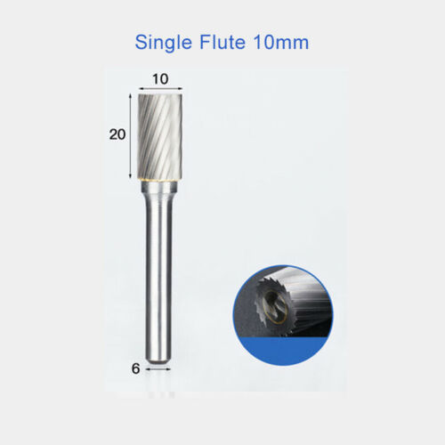 6-16mm Rotary Burr File Carbide Milling Grinding Cutter For Metal Wood Plastic