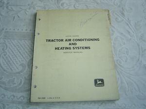 john deere 4020 tractor air conditioning ac heating shop repair rh ebay com John Deere L111 Service Manual John Deere Online Service Manual