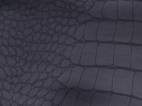 Kunstleder Leder Meterware PVC 140 cm  KROKO Polsterstoff Bezugsstoff