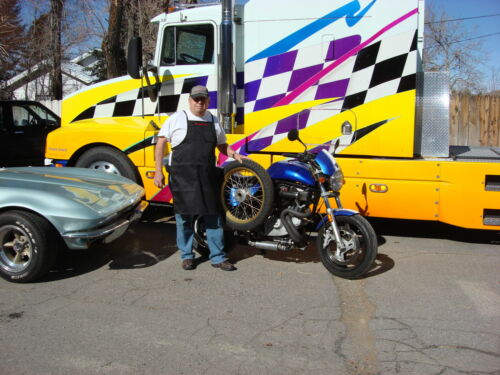 TAILGATE PARTIES-MOTORCYCLE REPAIRS GoRacin MECHANIC PIT Racing APRON-BBQ