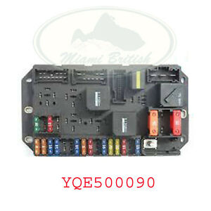 Range Rover Fuse Box - Trusted Wiring Diagram