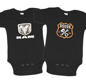Dodge Baby Tee Infant Clothing Dodge Ram Hemi Gifts One Piece Romper Bodysuit