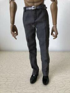 "1//6 Scale WWI German Soldier Pants Clothes Model Male Trousers Fit 12/"" Fugure"