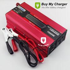 1000W Solar power inverter DC 12v to AC 220v Power Supply Voltage Converter