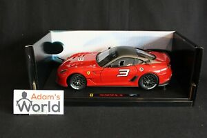 Hot-Wheels-Elite-Ferrari-599-XX-1-18-3-red-PJBB