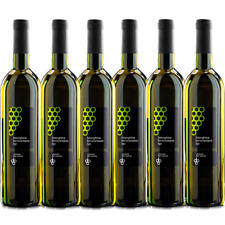 Vino Bianco Falanghina  Igp x 6 Bottiglie . 0.75ml Vinicola del Sannio