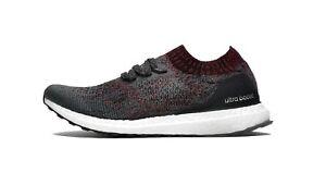 Adidas Men 's UltraBOOST UNCAGED Shoes Carbon/Core Black DA9163 c