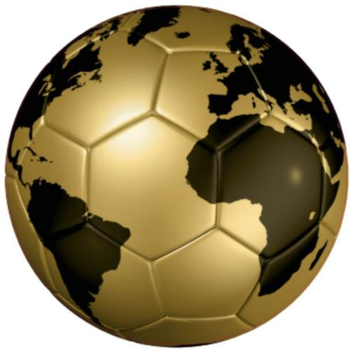decal sticker worldcup car bumper flag soccer ball foot football gold wolrd