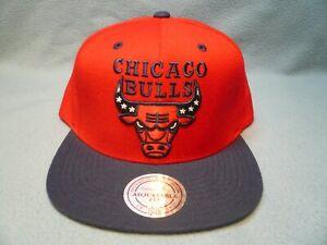 Mitchell & Ness Chicago Bulls American Hoops BRAND NEW Snapback cap hat NBA CHI