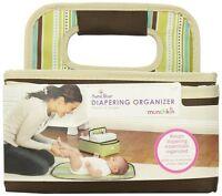 Munchkin SaraBear Diapering Organizer-Brown 24000 Baby Supply NEW