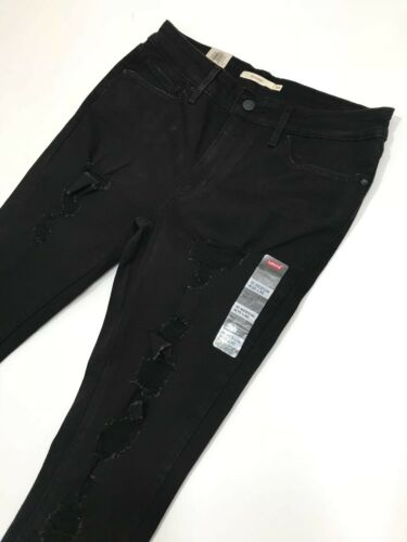 RRP £85 Levi's Skinny Jeans 711 Ripped 30//30