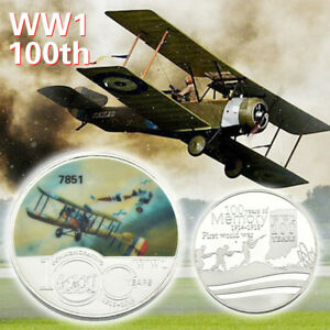 WR-World-War-I-100year-Of-Memory-Silver-Coin-Anniversary-Souvenir-Gift