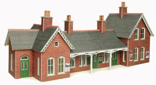 Metcalfe PO237 Country Station OO Gauge Cardboard Kit
