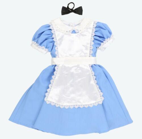 Tokyo Disney Resort Limited Kids Costume Alice in Wonderland Disneyland Japan