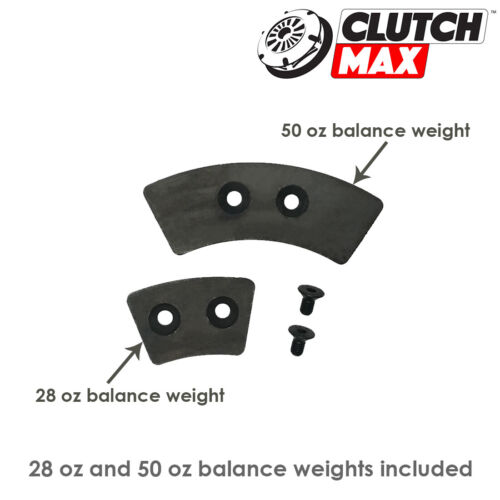 CLUTCHMAX STAGE 3 CLUTCH KIT+RACING FLYWHEEL for FORD MUSTANG 5.0L COBRA SVT 302