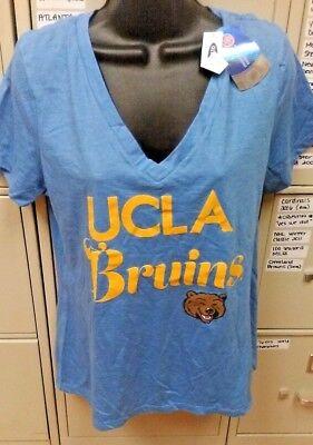 NCAA UCLA BRUINS WOMENS V-NECK T-SHIRT SIZE X-SMALL XS BRAND NEW