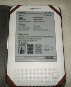 Details about AMAZON KINDLE KEYBOARD 4GB, Wi-Fi + 3G, No Ads NEW BATTERY +  more