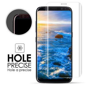 Für Samsung Galaxy S9 Plus Handy Hülle Cover Case Klar + Schutz Folie Curved 9H