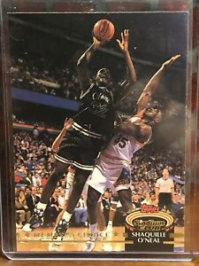 1992-93 Topps Stadium Club #201 Shaquille O'Neal RC Members Only Parallel