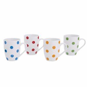 Kaffeetassen-Set-Teetassen-Set-aus-Porzellan-300-ml-4-Stueck