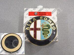 fregio-stemma-logo-ALFA-ROMEO-147-POSTERIORE-2000-2010-ORIGINALE-REAR-EMBLEM