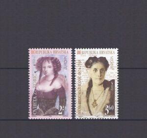 Croatie-Europa-CEPT-1996-celebre-les-femmes-neuf-sans-charniere