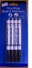 Dry Erase Markers Pens Thin Slim Fine Tip Board Whiteboard Wipe Clean Colour Pen