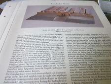 Wien Archiv 1 Geschichte 1002 Modell Legionslager Vindobona