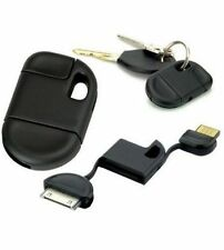 30 Pin Short USB Cable Keychain for iPhone 4S 4 3GS iPad iPod Sync Data Charger