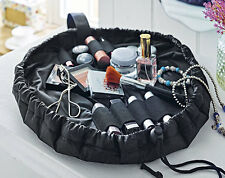 On The Road Make Up Bag Padded Drawstring Cosmetic Party Portable
