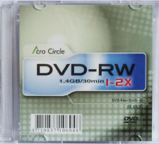 40 Stück AcroCircle 8cm Mini DVD-RW Rohlinge 1,4GB TOP!
