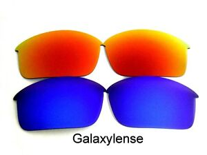 7a4795e8af Image is loading Galaxy-Replacement-Lens-For-Oakley-Bottle-Rocket -Sunglasses-