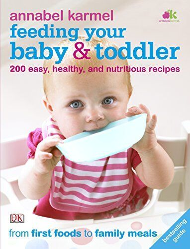 1 of 1 - Feeding Your Baby and Toddler by Karmel, Annabel 1405359781 The Cheap Fast Free