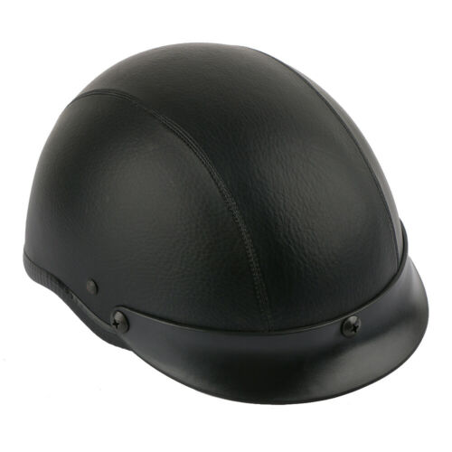 DOT Motorcycle German Half Face Helmet For Harley Chopper Cruiser Biker M//L//XL