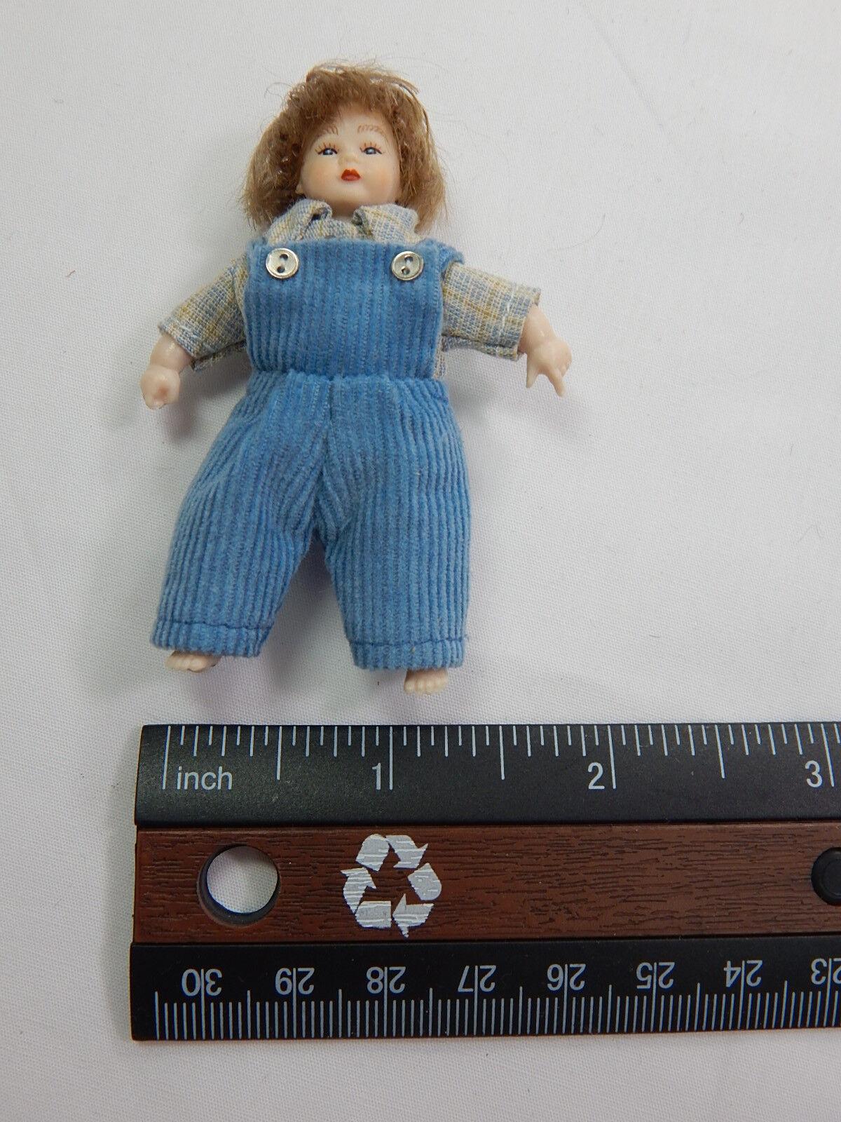 Heidi Ott  Dollhouse Miniature 1:12 Scale Baby  2    XB515