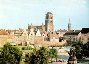 AK, Gdańsk, Danzig, Targ Drzewny, Baummarkt, 1973