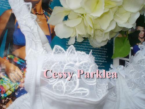 """Euro /""""Bpc/"""" Cotton White Black Embroidery Non-Padded Stretchy Cups Wired Bras"""