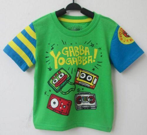 BRAND NEW YO GABBA GABBA D.J.Lance Unisex T-Shirt 18mths,24mths,3yrs,4yrs,5yrs