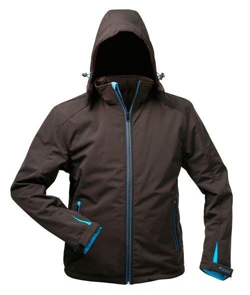 1 pièces softshell veste ELYSEE uranos thinsulate Outdoor le vent et étanche