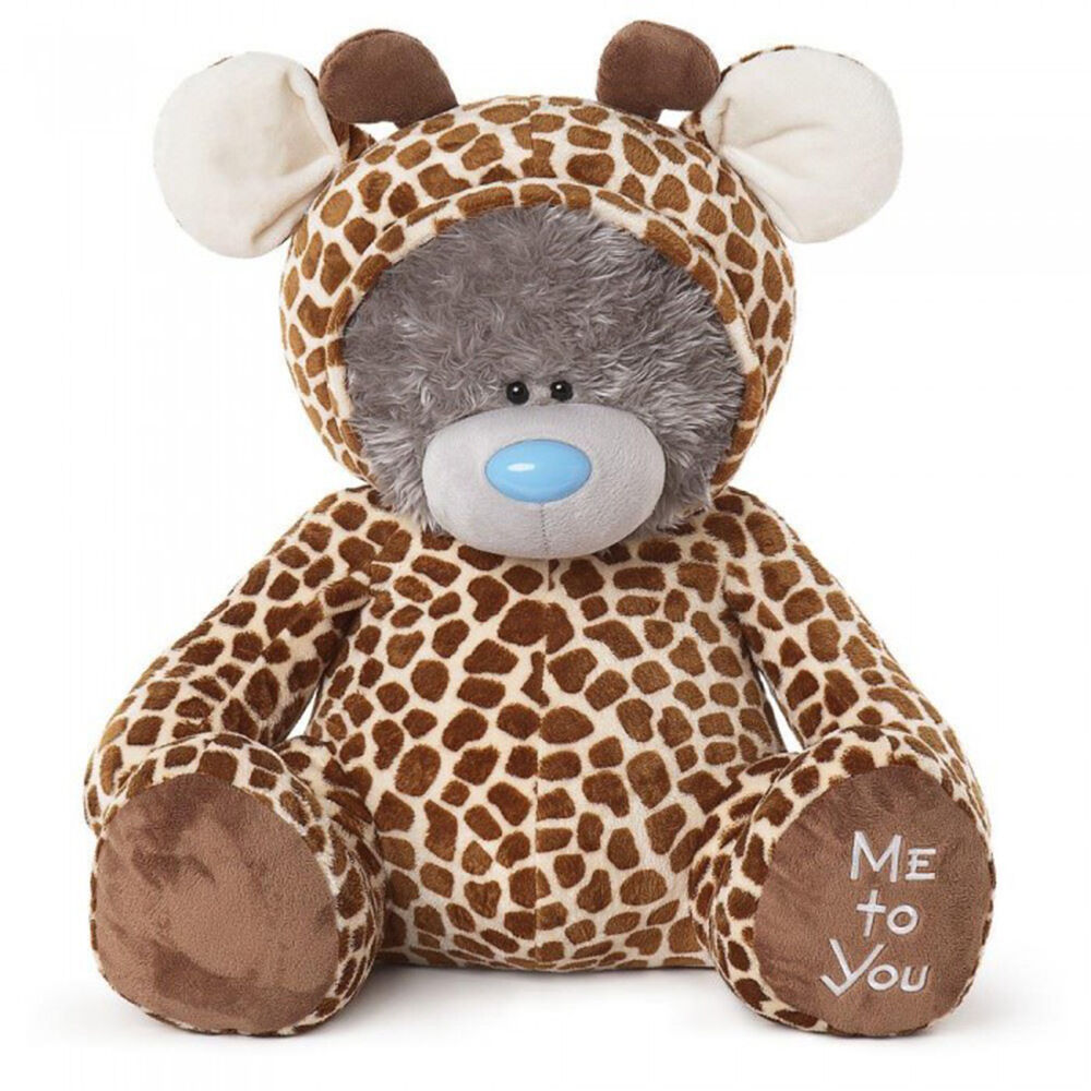ME TO YOU ORSO VESTITO come una Giraffa-XL ORSO