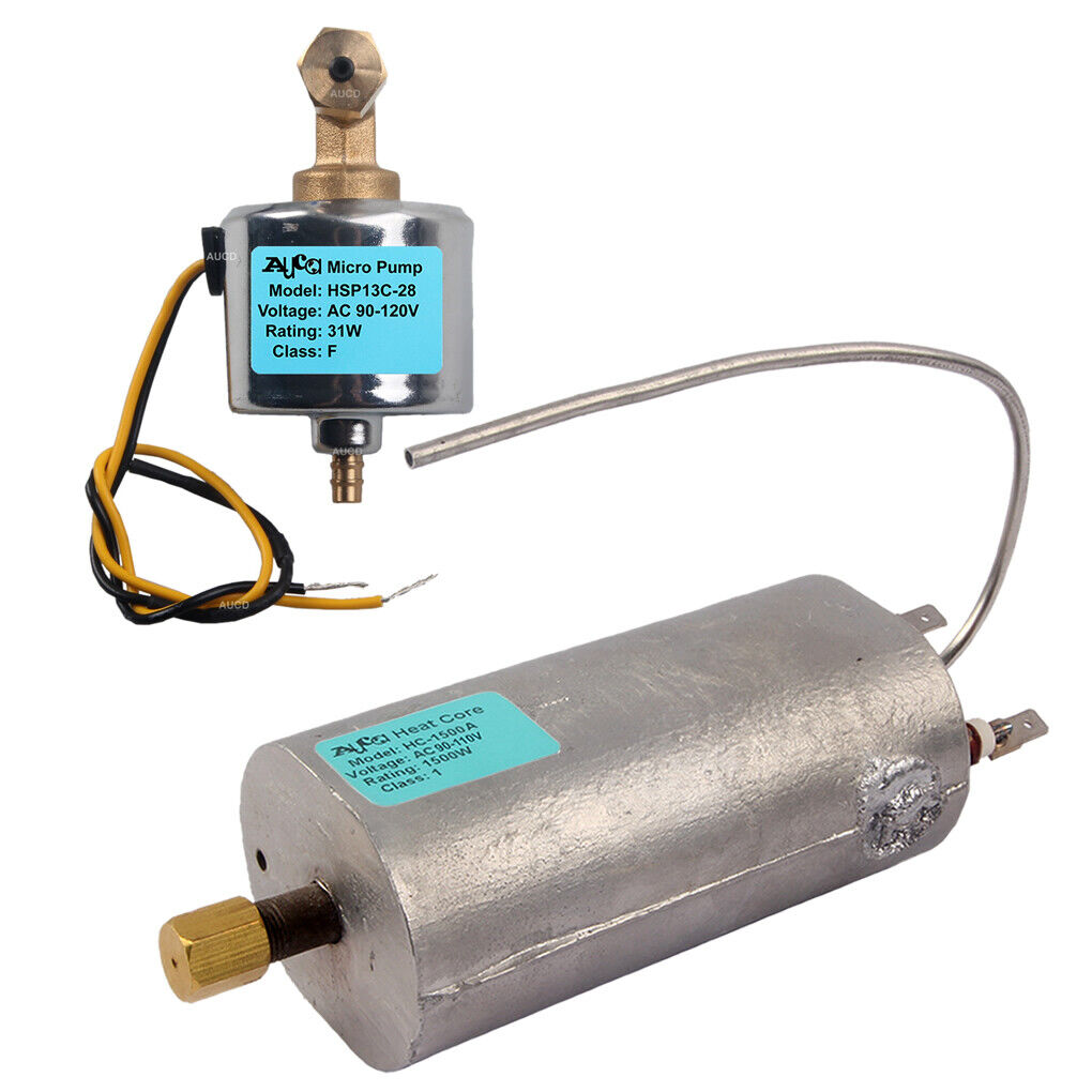 1500W Heater Stick 40DCB 31W Cuprum Core Oil Pump Fog Smoke Machine Heat DJ Kits