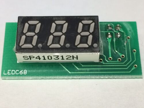 LEDC68 SP410312N Replacement 888 display module for Gotek USB floppy emulator