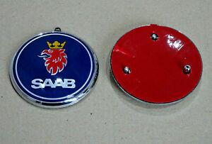 Saab-93-9-3-Saloon-Estate-Convertible-2004-2012-posterior-Arranque-Insignia-Emblema-12844160