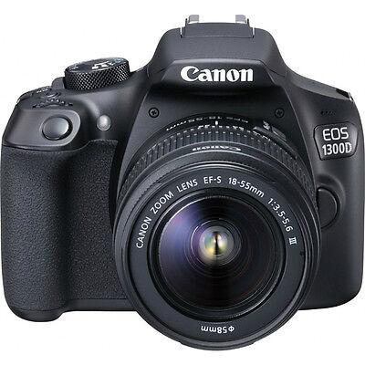 Canon EOS 1300D con Objetivo 18-55mm III - Negro