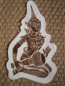 Antique Asiatique En Relief Imprimé-traditionnel Thaïlande Costume/instrument De Musique-afficher Le Titre D'origine Qf3detsr-10114703-680244590
